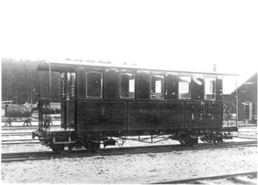 MJ1, den första personvagnen